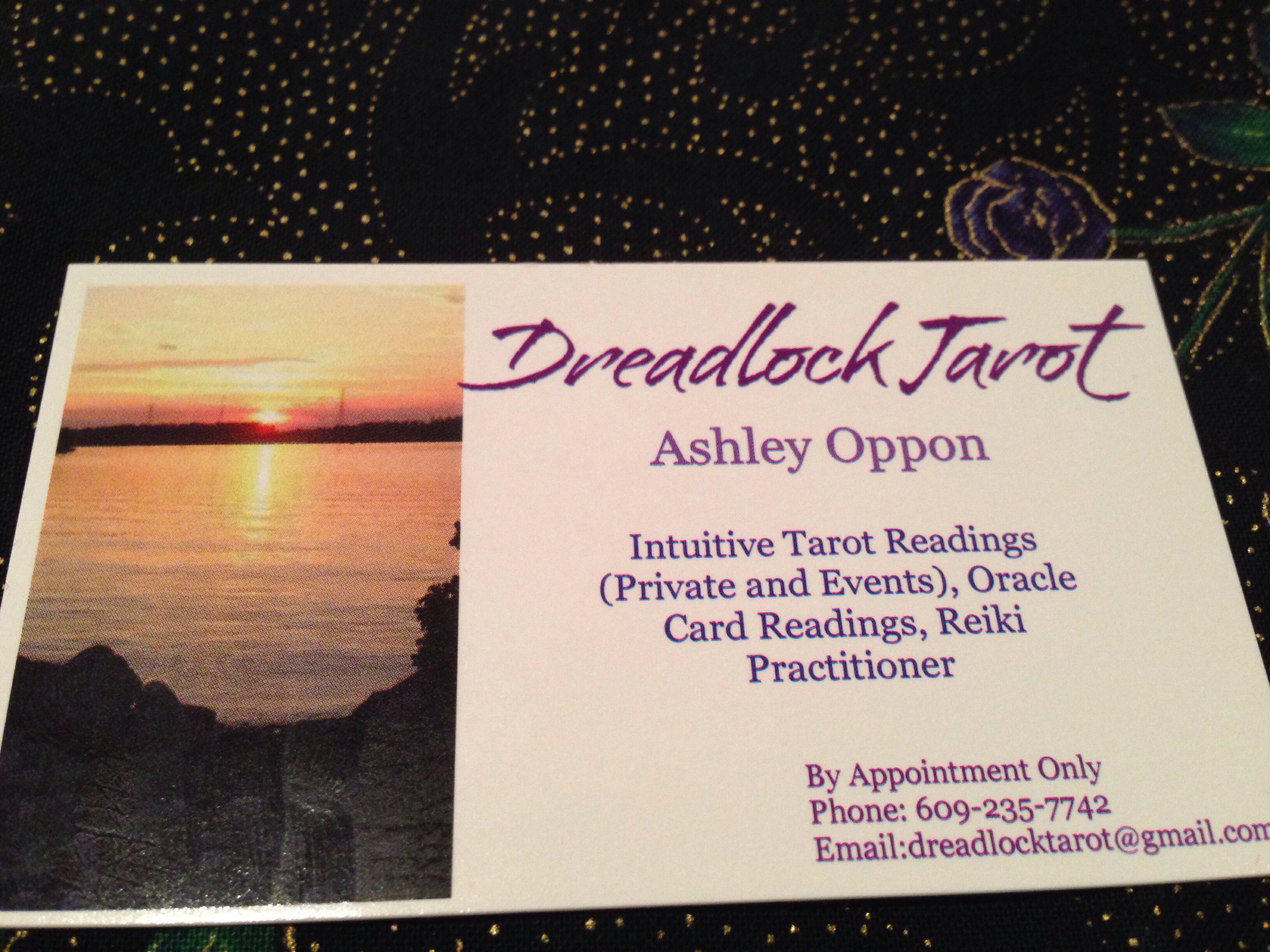 Business Card – Dreadlock Tarot